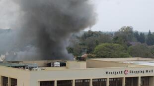 Le centre commercial Westgate à Nairobi, le 23 septembre 2013.