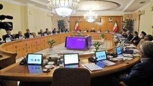 حسن روحانی، رئیس جمهوری اسلامی ایران در جلسه امروز هیات دولت