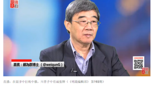 明镜火拍《明镜编辑部》第193期  陈小平对顾为群博士的专访