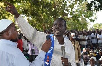 Viongozi wa kundi la MRC mjini Mombasa
