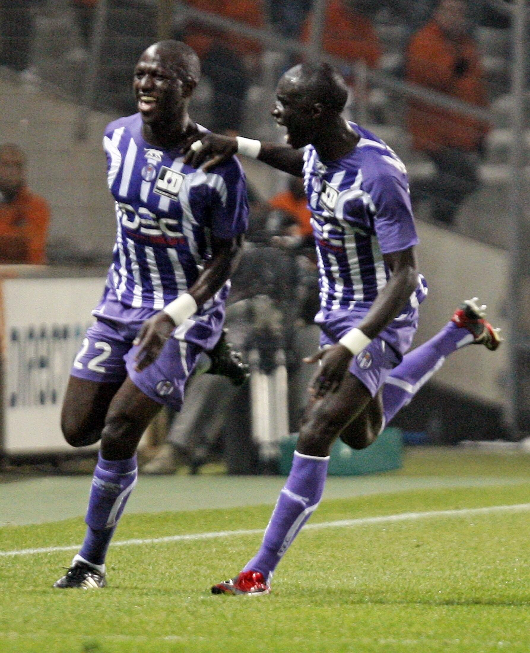 Le Toulousain Moussa Sissoko (g).
