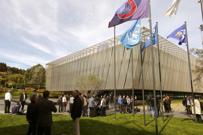 Штаб квартира FIFA в Цюрихе 25 сентября 2015