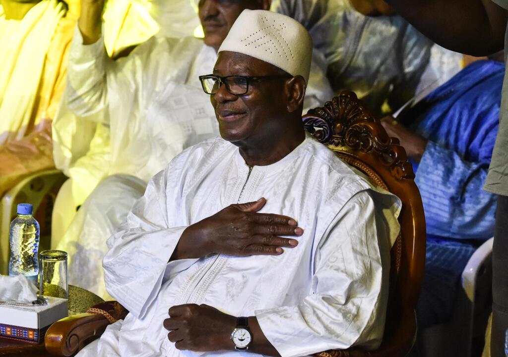 Business as usual: Malian President Ibrahim Boubacar Keïta says a coup is not on the agenda.