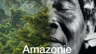 """Cartaz da exposição """"Amazônia - o Xamã e o Pensamento da Floresta"""", no Museu da Etnografia de Genebra (MEG), na Suíça."""