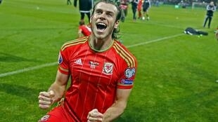 Gareth Bale scored Wales's first goal in a major competition for 58 years.