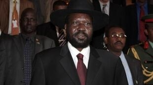 South Sudanese President Salva Kiir
