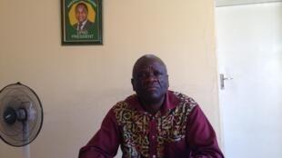 UPND Secretary General Stephen Katuka in his office in Lusaka
