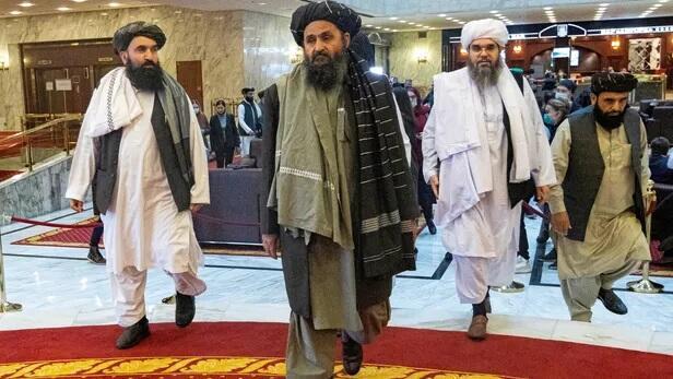 Le mollah Abdul Ghani Baradar, chef adjoint et négociateur des talibans