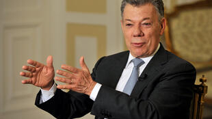 Tsohon shugaban kasar Colombia Juan Manuel Santos.