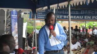 Alain Foka présente Médias d'Afrique au Togo