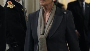 Michelle Alliot-Marie quitte son poste au Quai d'Orsay.