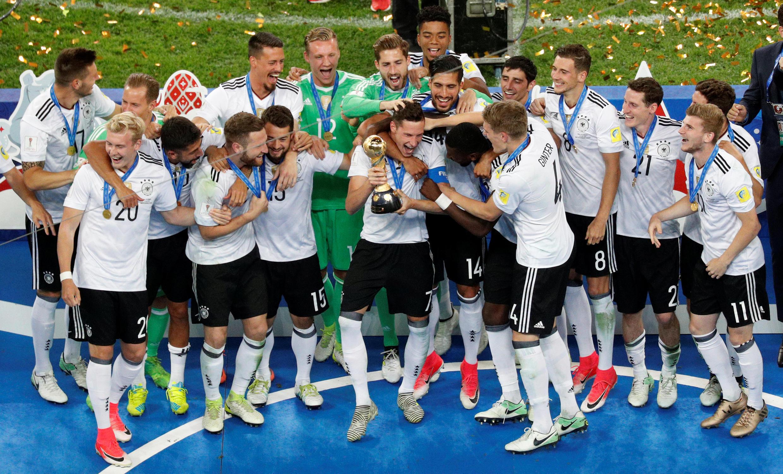 Alemania se llevó su primera Copa de las Confederaciones en Rusia, con una selección rejuvenecida.