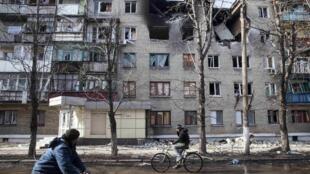 Дебальцево, 23 февраля 2015 г.