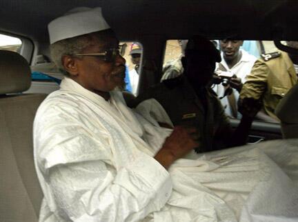 Hissene Habre rais wa zamani wa Chad