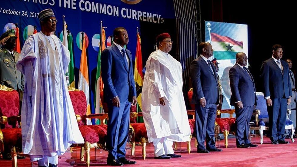 Taron tattauna batun samar da kudin bai-daya na ECOWAS a Nijar da aka gudanar a ranar 24 ga watan Oktoba 2017