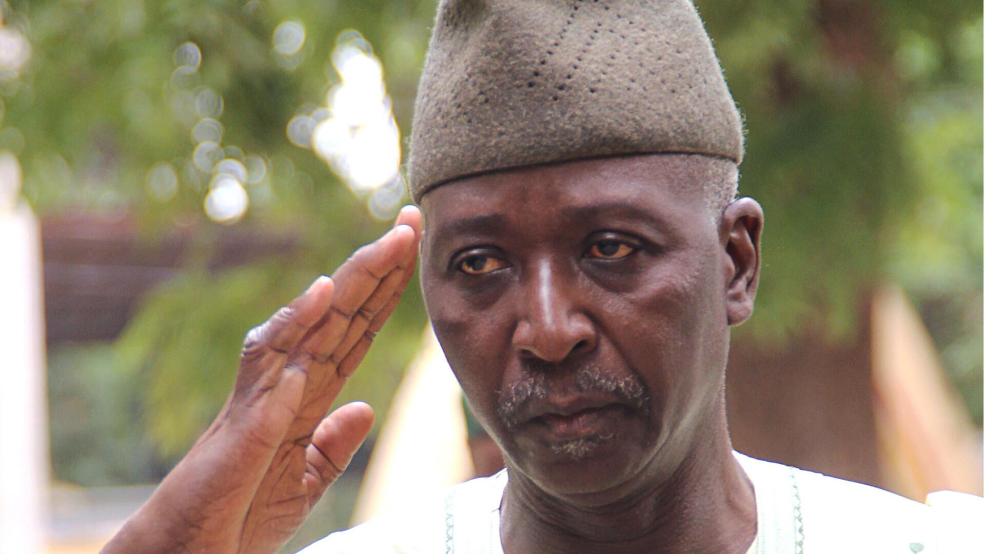 O actual Presidente de transição do Mali, Bah N'Daw.