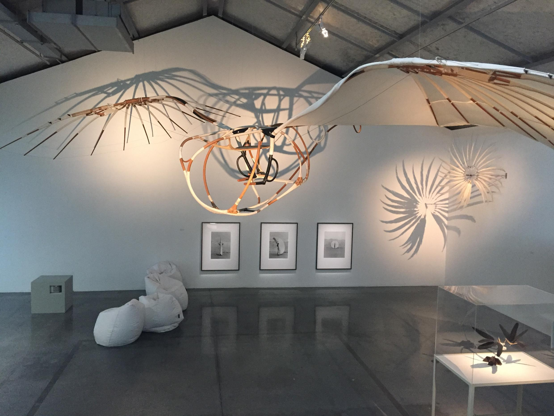 """Exposição """"O voo ou o sonho de voar"""", na Maison Rouge, em Paris."""