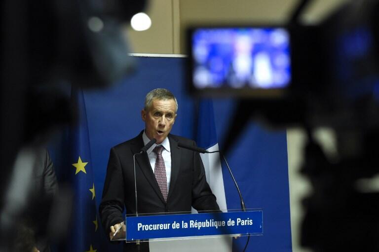 Chưởng lý Paris, ông François Molins trong cuộc họp báo ngày 25/08/2015 về vụ tấn công trên tàu Thalys.