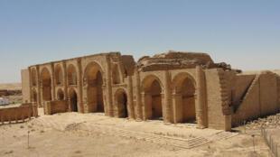 Руины Харты, древнего иракского города (архив)