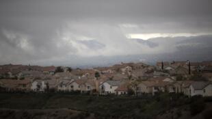 La ville de Porter Ranch, dans la banlieue de Los Angeles, en proie à une fuite de gaz massive depuis fin octobre 2015.