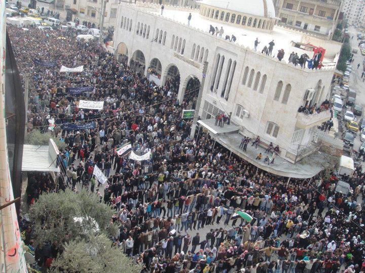 Biểu tình chống chế độ Assad ngày 18/11/2011 tại Damas