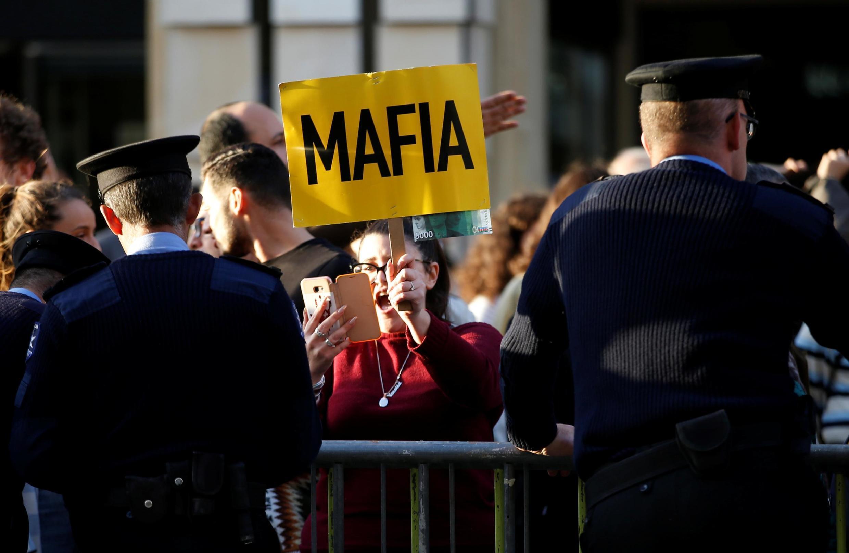 Biểu tình tại Valletta, Malta ngày 02/12/2019 đòi công lý trong vụ ám sát nhà báo điều tra Daphne Caruana Galizia.
