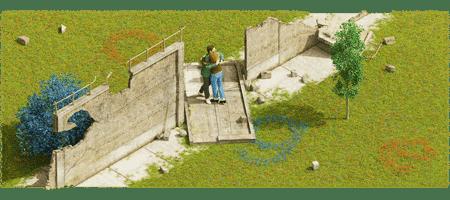 圖為谷歌柏林牆倒塌30周年置頂照片