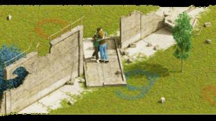 图为谷歌柏林墙倒塌30周年置顶照片