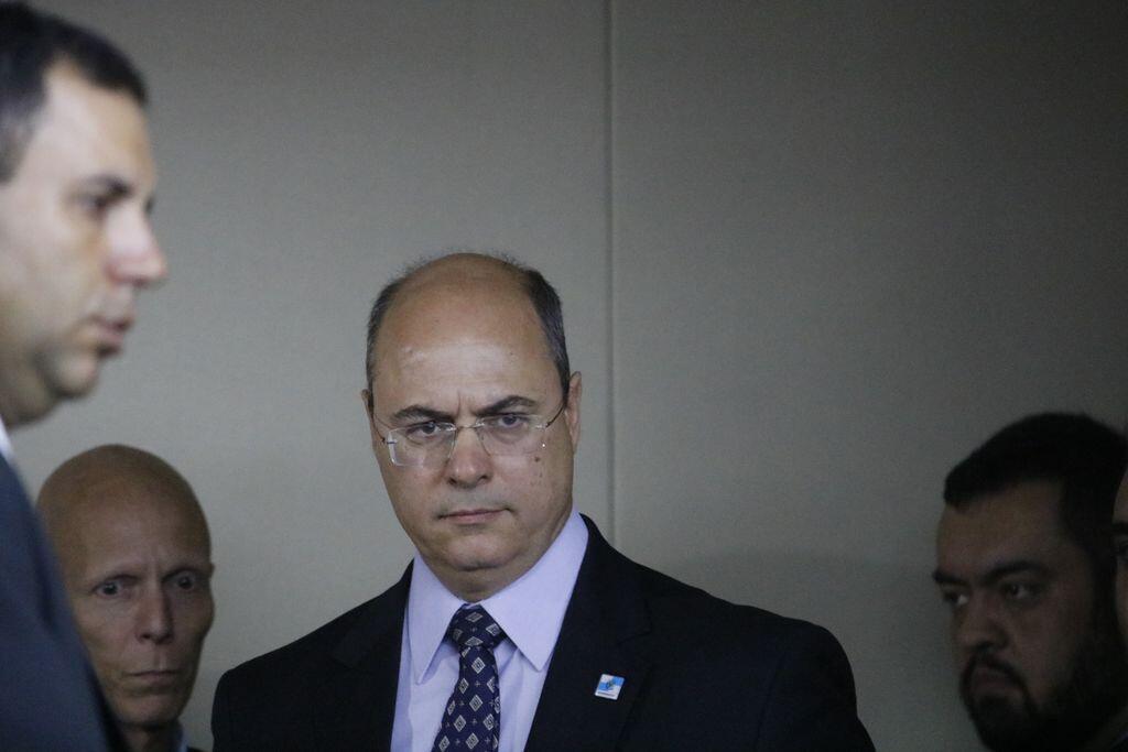O governador do Rio de Janeiro, Wilson Witzel (PSC).
