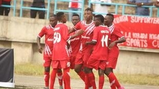 Wachezaji wa klabu ya Simba nchini Tanzania, watacheza na AS Vita jijini Dar es salaam Machi 16 2019