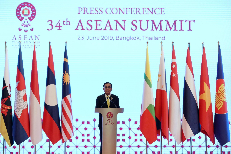 """東盟34屆峰會""""發展可持續合作夥伴關係""""為主題"""