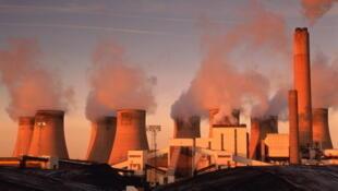 La centrale à charbon de Nottinghamshire, au Royaume-Uni.