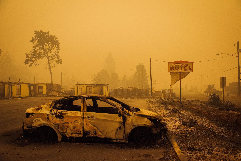بیش از نیم میلیون نفر در اورگان بدلیل آتشسوزی گسترده منازل خود را رها کرده و فرار کردند.