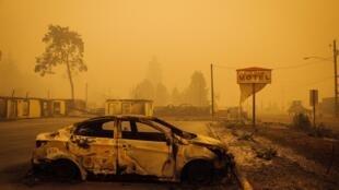 En Oregón, medio millón de personas han tenido que ser evacuadas por los incendios.
