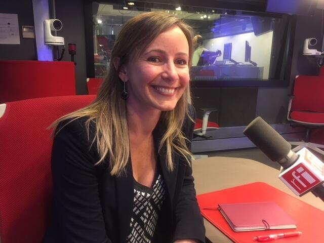 Yusca Costa Aguiar, professora UFPB, nos estúdios da RFI Brasil.