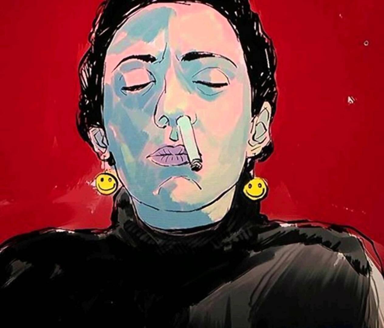 Sur la toile, la chanson de Blue Luka Hashrab Hashish a été écoutée plus de 3 millions de fois.