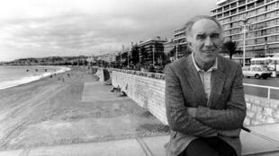 Michel Piccoli, en octobre 1983, à Nice après la présentation de son nouveau film «Le Général de l'armée morte», de Luciano Tovoli.
