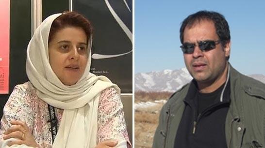 مهران زینتبخش و کتایون شهابی