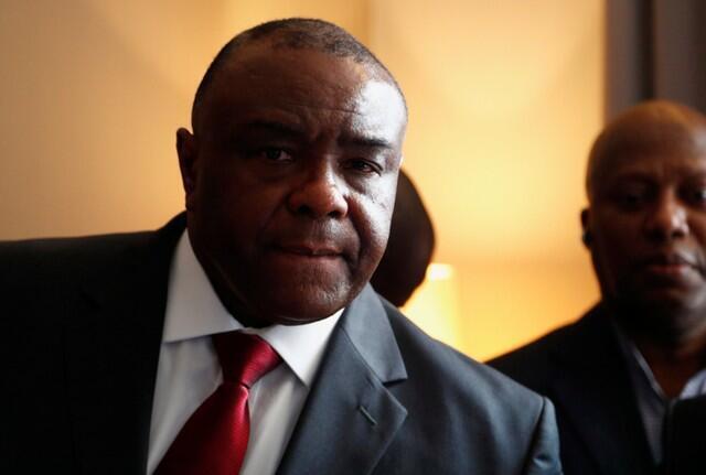 Kiongoi wa upinzani DRC, Jean-Pierre Bemba.