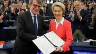 Parlamento Europeu em Estrasburgo, França, em 27 de novembro de 2019.