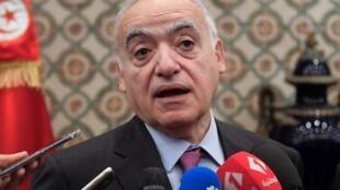 Ghassan Salamé, le 18 décembre 2018, à Tunis.