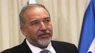 Le ministre israélien de la Défense Avigdor Lieberman (photo d'archives).