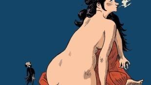 Couverture de la bande dessinée «Nerval, l'inconsolé», par David Vandermeulen et Daniel Casanave.