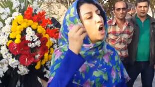 نرگس محمدی، نایب رئیس کانون مدافعان حقوق بشر ایران