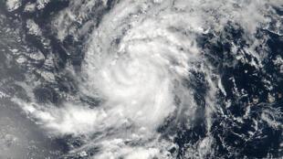 Image satellite de l'ouragan Irma, datée du 30 août 2017.