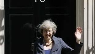 Theresa May no n° 10 Downing Street