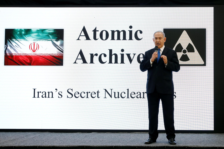 Биньямин Нетаниягу представил секретный архив иранской ядерной программы, полученный израильской разведкой