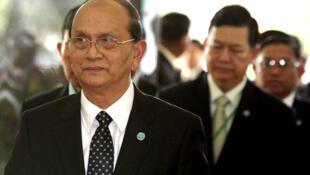Tổng thống Miến Điện Thein Sein (Reuters)
