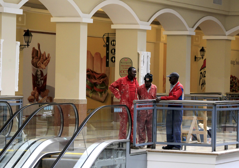 Deux ans après l'attentat des shebabs, le centre commercial est prêt pour sa réouverture samedi 18 juillet, repeint, lavé et restauré.
