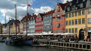 Nyhavn au Danemark